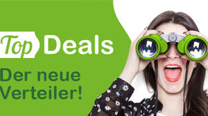 TopDeals homepage